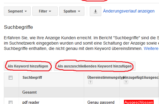 AdWords-Serie Teil V. – Die Keywords